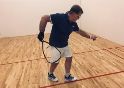 Ken Woodfin Racquetball lessons and techniques
